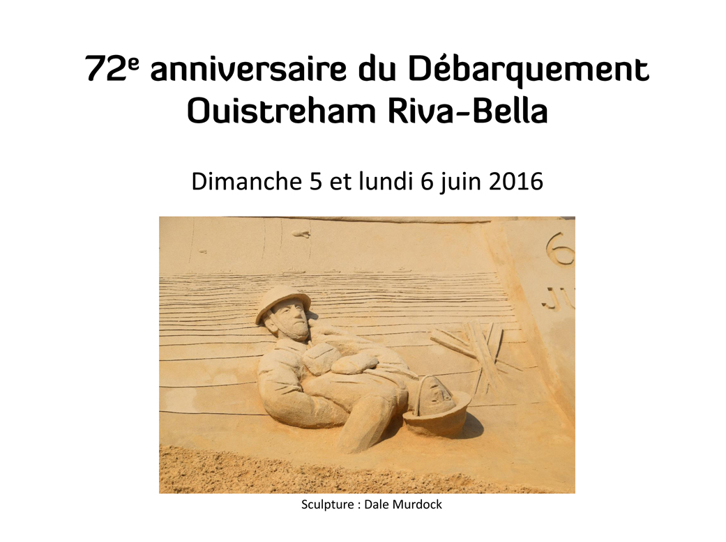 72e anniversaire du Débarquement
