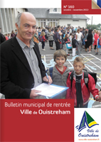 Bulletin municipal n° 160 Oct. 2013 - Nov. 2013