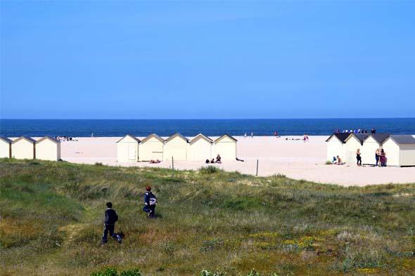La plage de Ouistreham Riva-Bella
