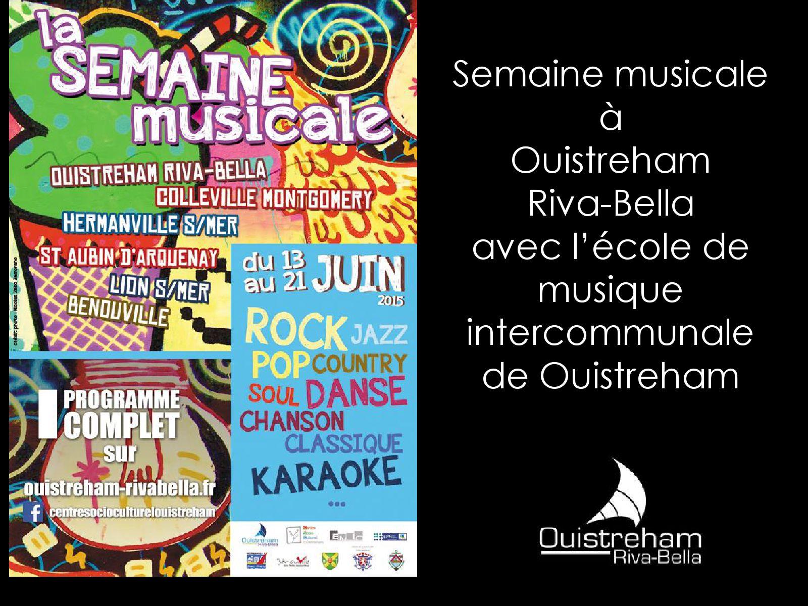 Semaine musicale 2015