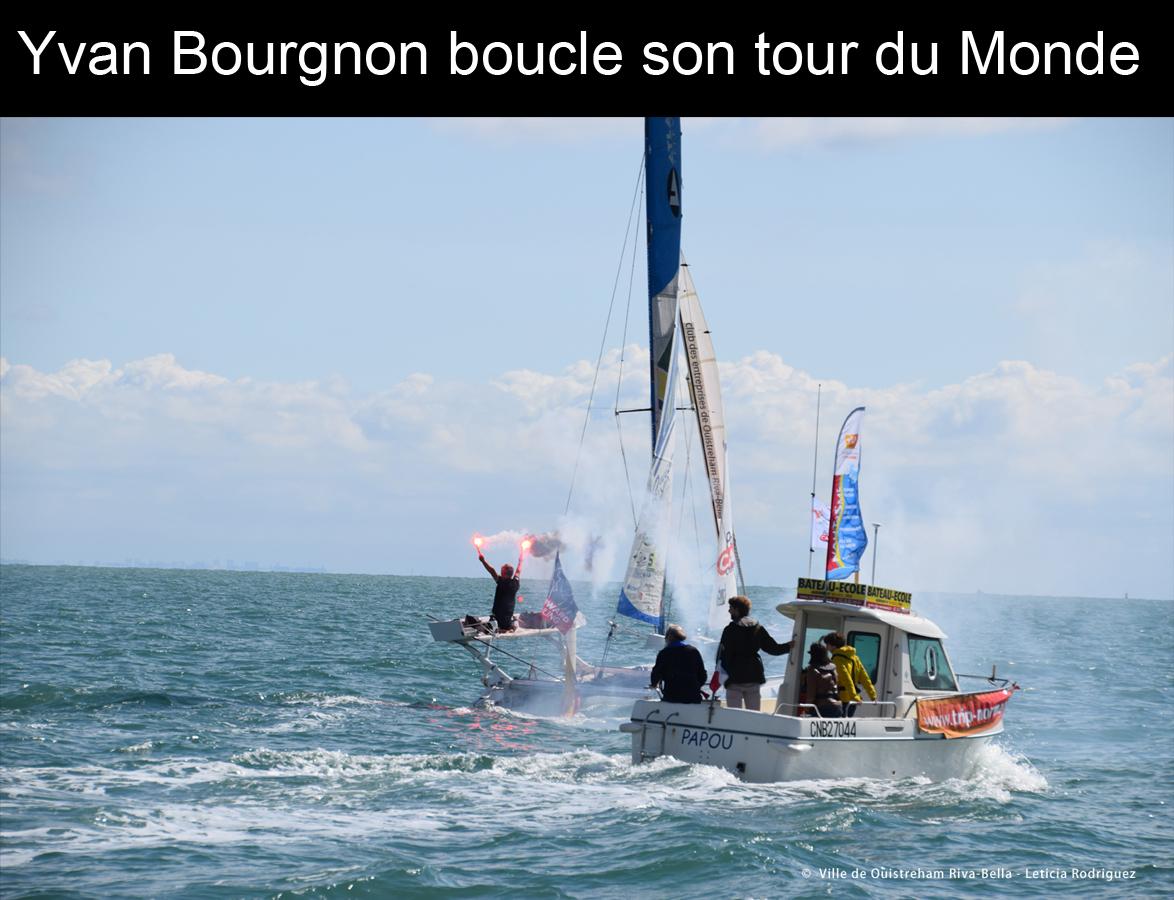 Yvan Bourgnon boucle son tour du monde