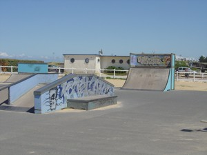 Skate Parc - Plage principale