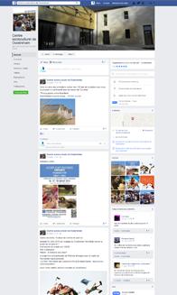 Facebook du centre socioculturel de Ouistreham Riva-Bella