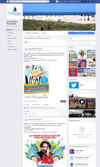 Facebook de la Ville de Ouistreham Riva-Bella