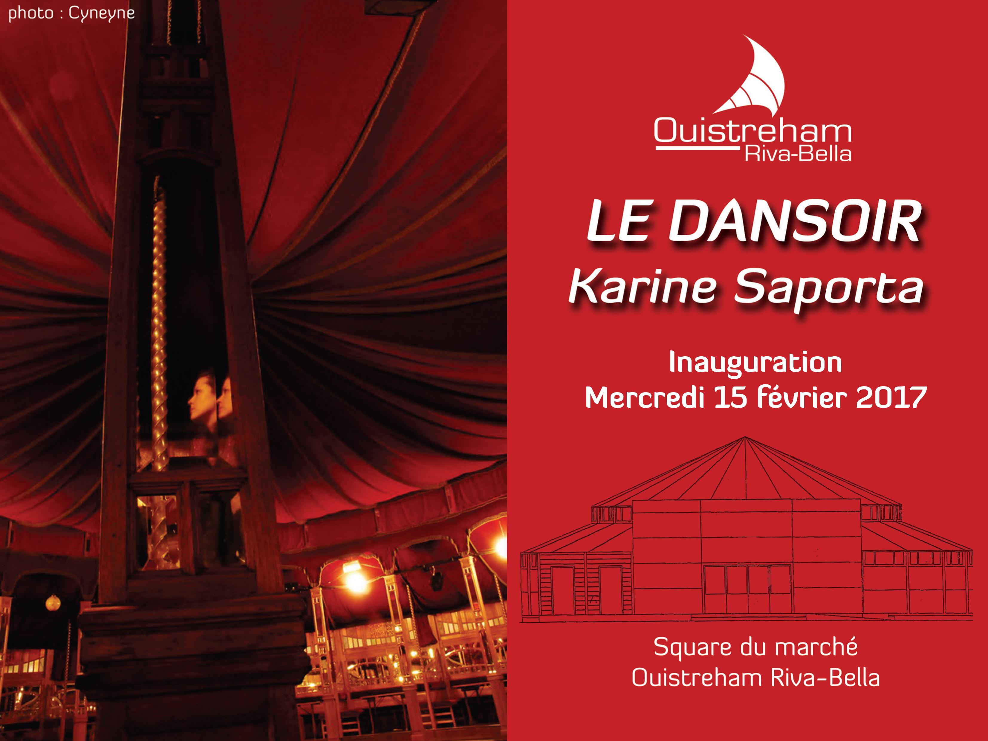 Inauguration Dansoir Karine Saporta
