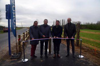 Inauguration de la piste cyclable