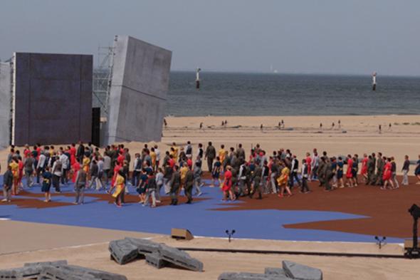 Cérémonie internationale du 70e anniversaire du Débarquement