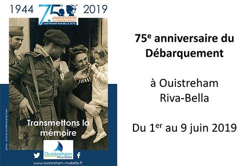 75e anniversaire du Débarquement