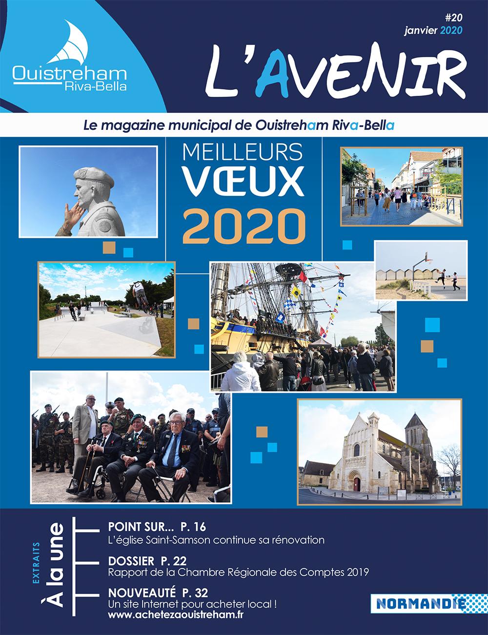 Magazine l'Avenir n°20 - janvier 2020