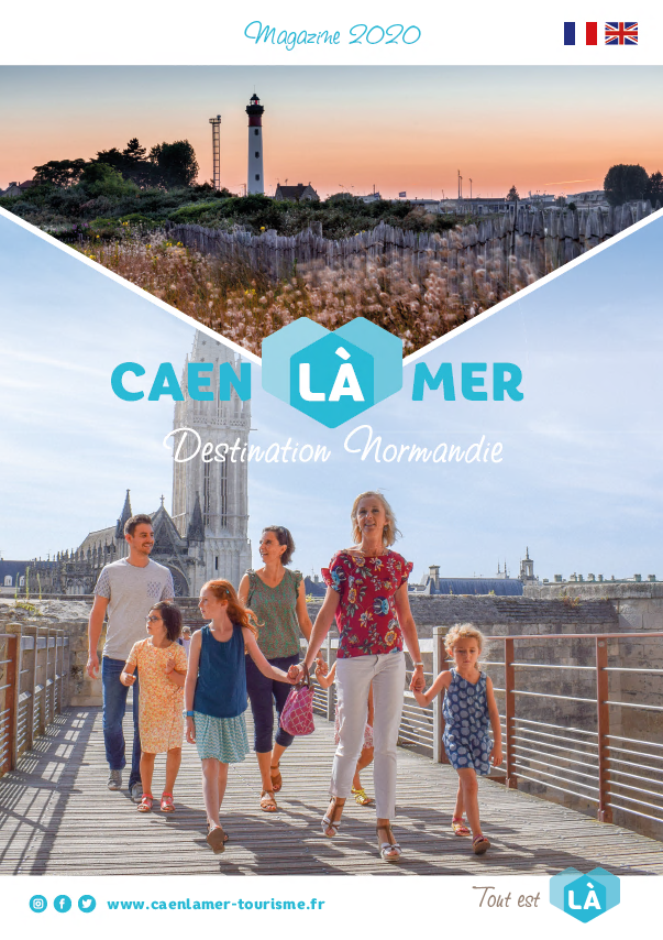 Magazine de la destination Caen la mer Tourisme 2020