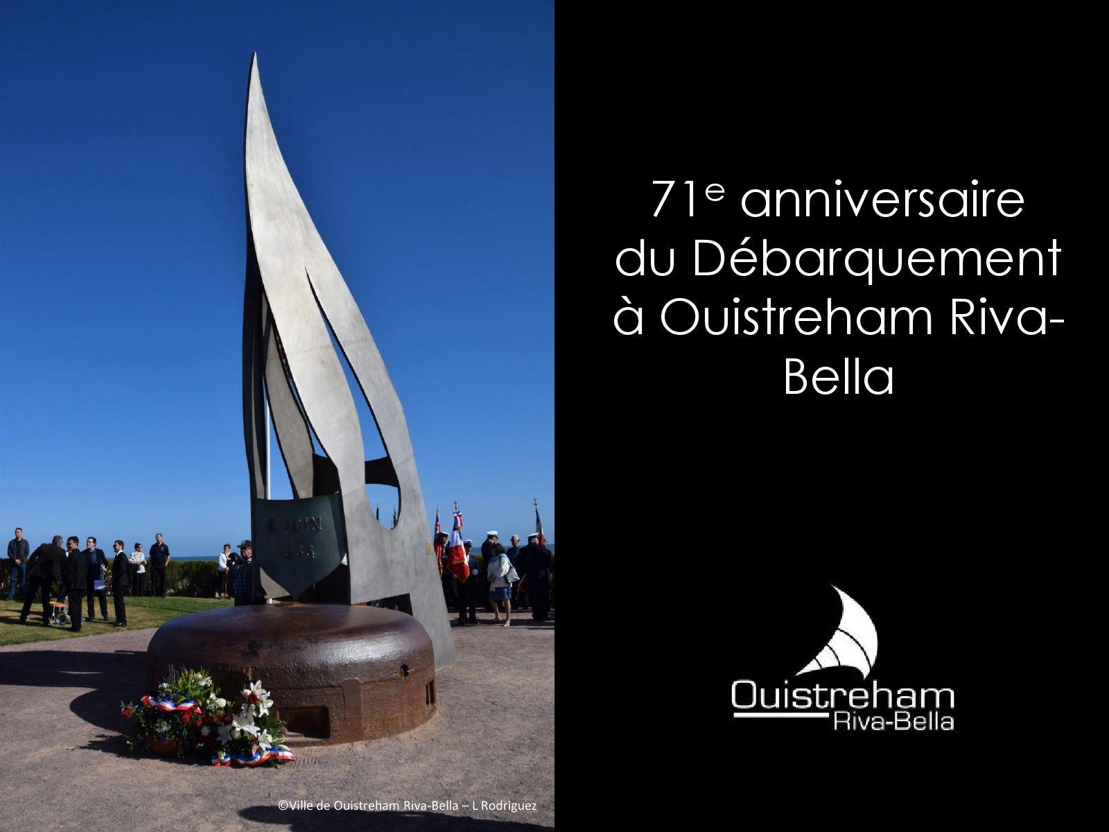 71e anniversaire du Débarquement
