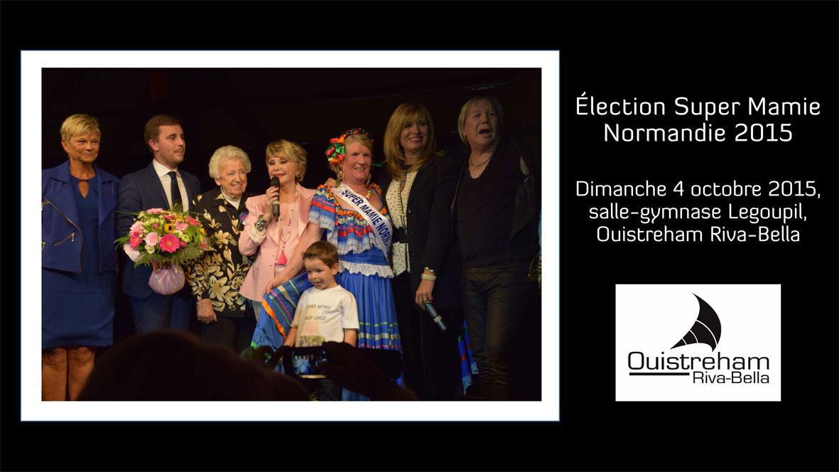 Élection de Super Mamie Normandie 2015