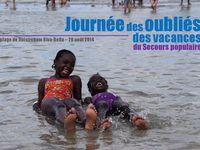 Journée des oubliés des vacances du secours populaire Ouistreham Riva Bella