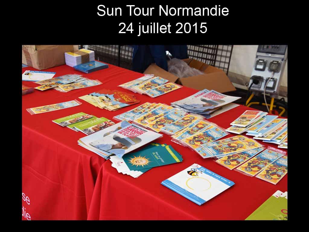 Sun Tour Normandie 2015