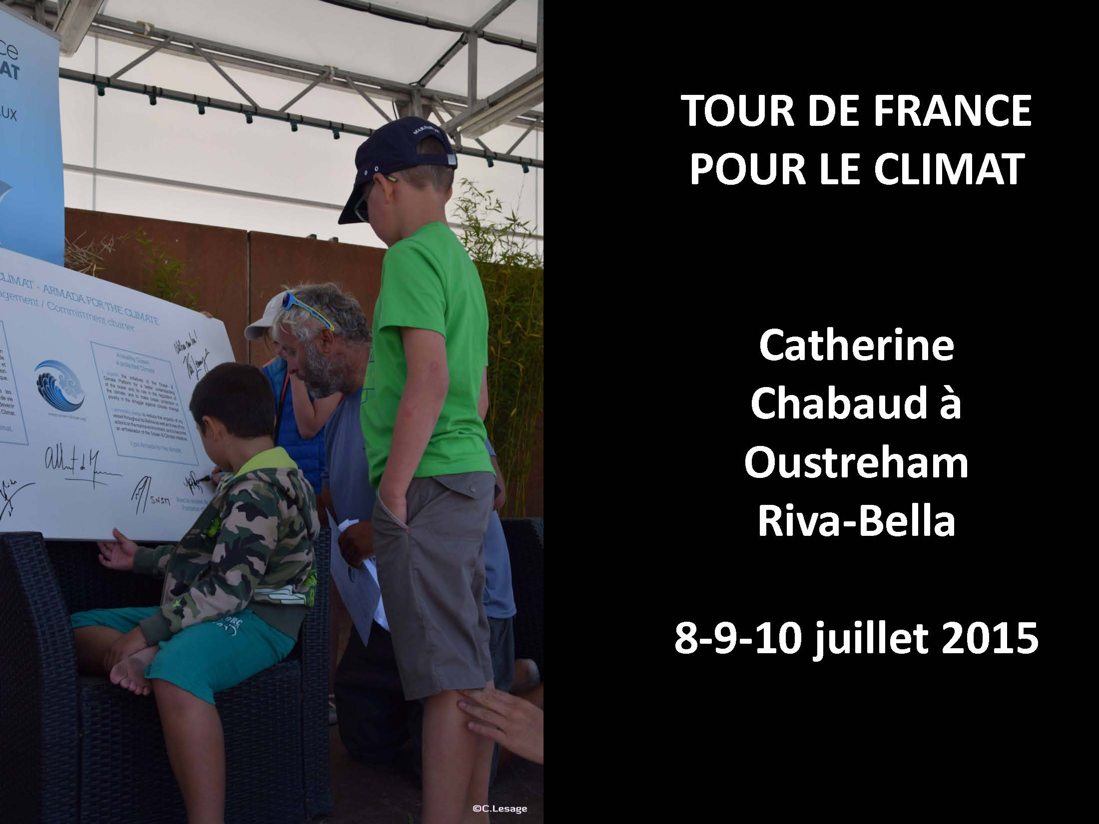 Tour de France pour le climat