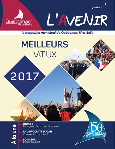 Magazine municipal - L'Avenir n°9 - Ouistreham Riva-Bella - janvier 2017