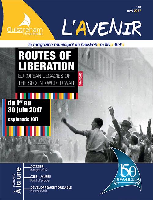 Magazine municipal - L'Avenir n°10 - Ouistreham Riva-Bella - avril 2017