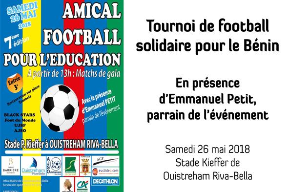 Tournoi de foot solidaire - Mai 2018
