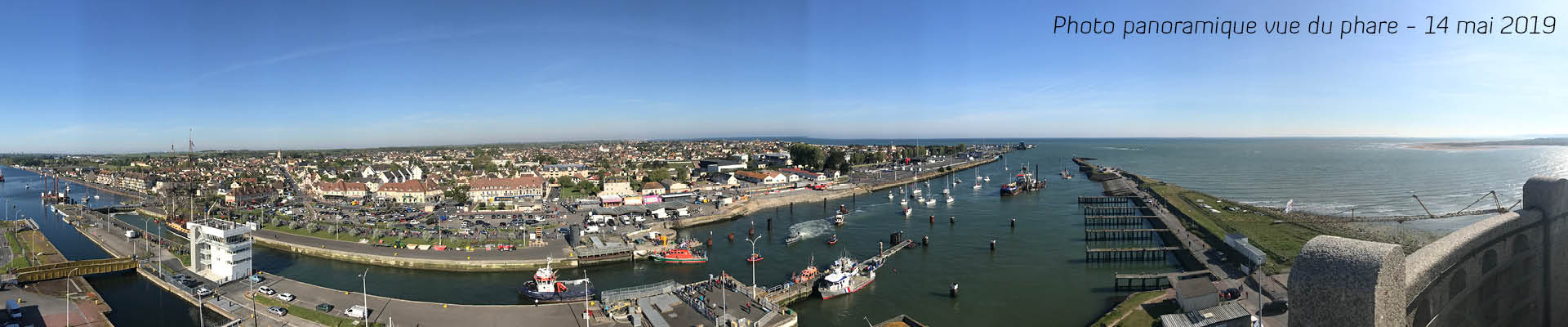 Ouistreham Riva-Bella vue du phare