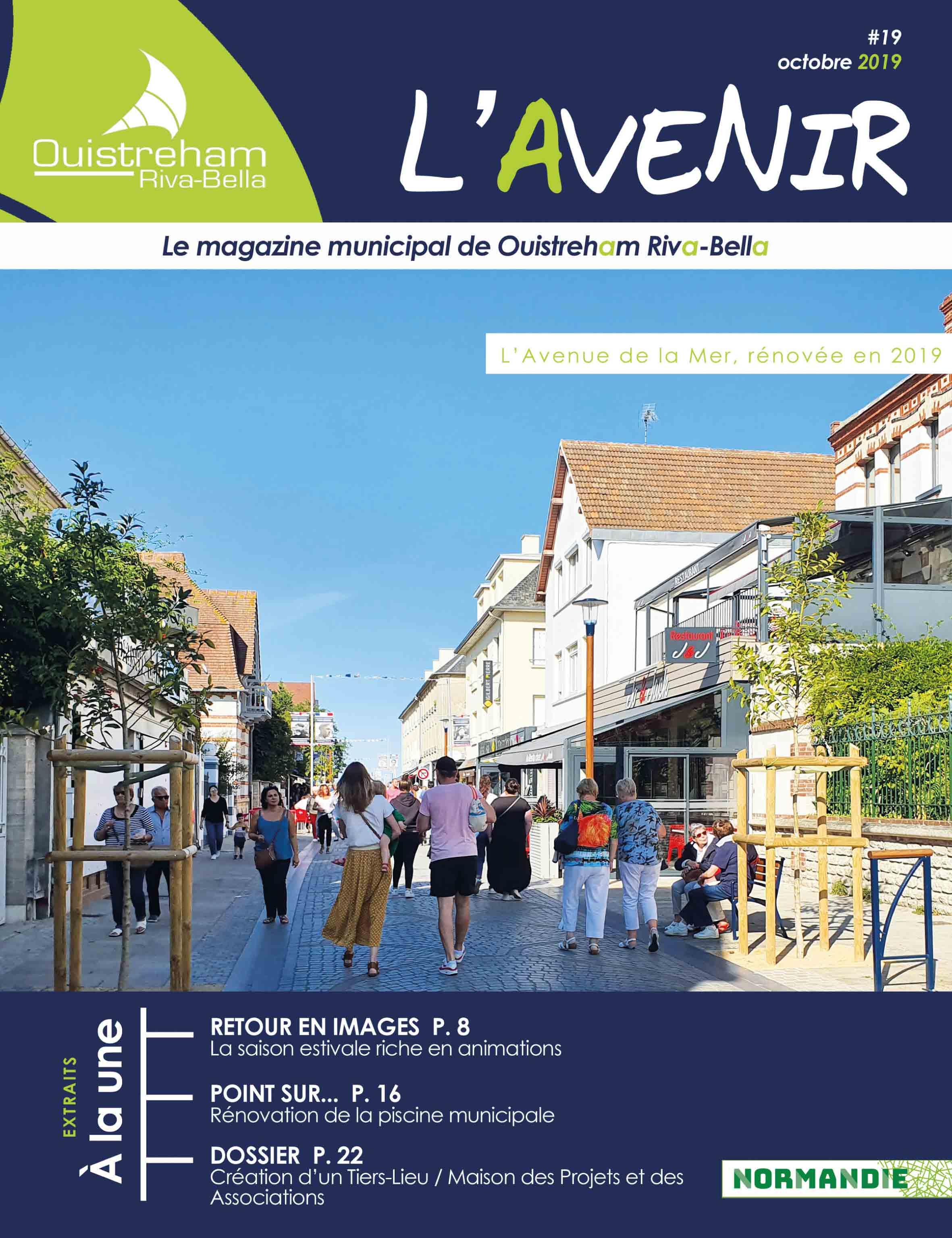 Magazine l'Avenir n°19 - octobre 2019
