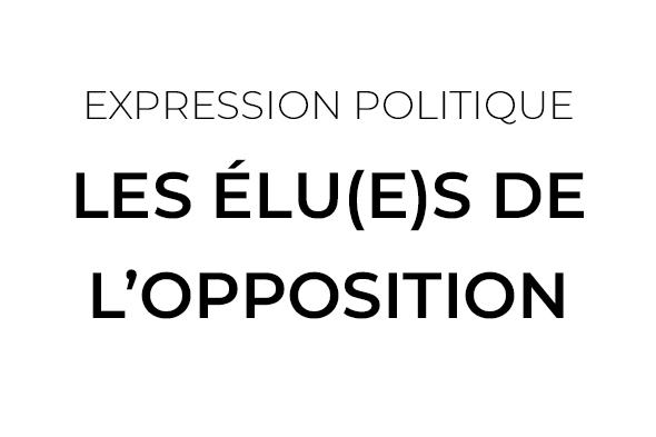 Expression Politique - Opposition